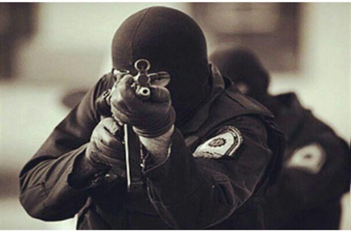 دستگیری سارقان با شلیک پلیس