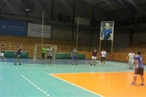 قهرمانی واحد دامغاندرمسابقات هندبال دانشجویان پسر استان سمنان