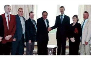 تایمز: لابی فلسطین زمینه دیدار کوربین و اسد را در سال 2009فراهم کرد
