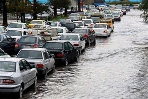 ورود سامانه بارشی  و آبگرفتگی معابر و بالا آمدن آب رودخانهها از فردا