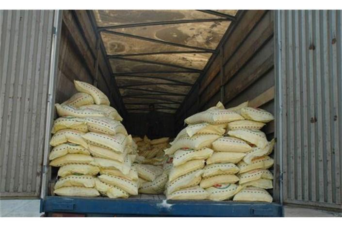 توقیف یک محموله برنج قاچاق