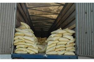 محموله 23 تنی برنج قاچاق در رودان