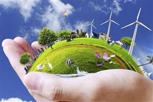 چرخیدن توربین انرژی های تجدید پذیر با حرکت دانشگاه آزاد اسلامی