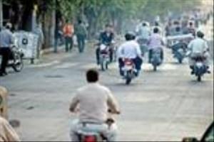 موتور سیکلت ها  تهران را خفه کردند