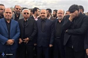 سلطانی فر در مراسم وداع با آیت الله هاشمی رفسنجانی حضور یافت+ عکس