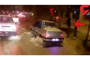رهگذران بلوار شورا در لرستان هیچ واکنشی به غرق شدن دختر دانشجو نشان ندادند/تماشاچیان مرگ