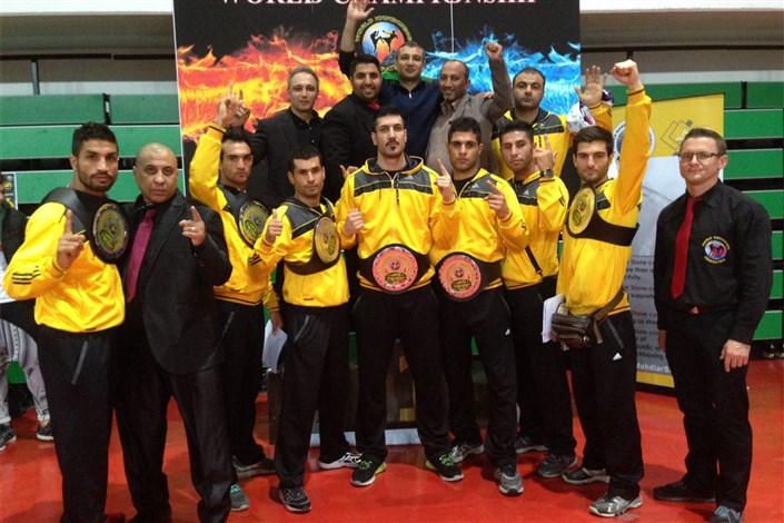 7طلا، یک برنز و یک قهرمانی جهان دستاورد ایران