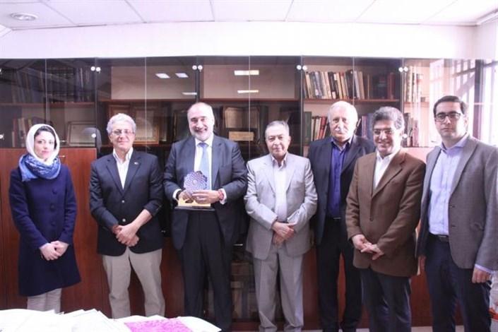 The Head of Milan Polytechnic University Visits S & R IAU
