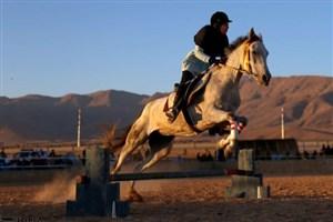 دومین دوره مسابقات پرش اسب های اصیل ترکمن درخراسان شمالی برگزار شد