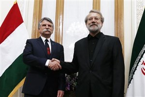 لاریجانی: نگاه ایران و مجارستان  به پدیده تروریسم مشترک است