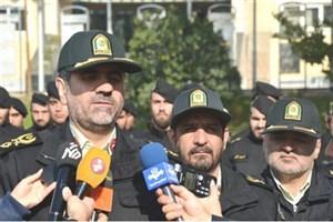 آماده باش پلیس پایتخت در مراسم ۲۲ بهمن