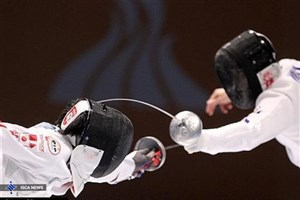تیم ملی سابر دختران ایران در رده ششم آسیا