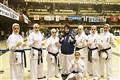 Iranian Female Karatekas  Runner-Up at So-Kyokushin Championship