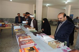استقبال از نمایشگاه و فروشگاه کتاب در واحد دهاقان دانشگاه آزاد اسلامی