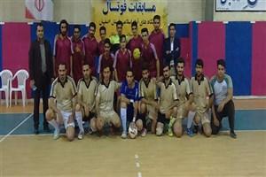 برگزاری مسابقات فوتسال در واحد دهاقان دانشگاه آزاد اسلامی