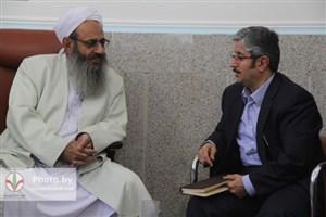 دیدار سخنگوی حزب اعتدال و توسعه با مولانا عبدالحمید