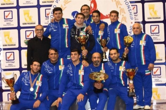 Bojnord SAMA IAU Bags Gold in 1st Pahlavani Wrestling World Championship