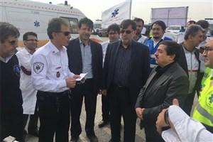 معاون وزیر بهداشت در چزابه : ارائه خدمات درمانی به 28 هزار زائر