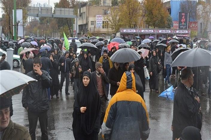 پیاده روی  اربعین  از میدان امام حسین
