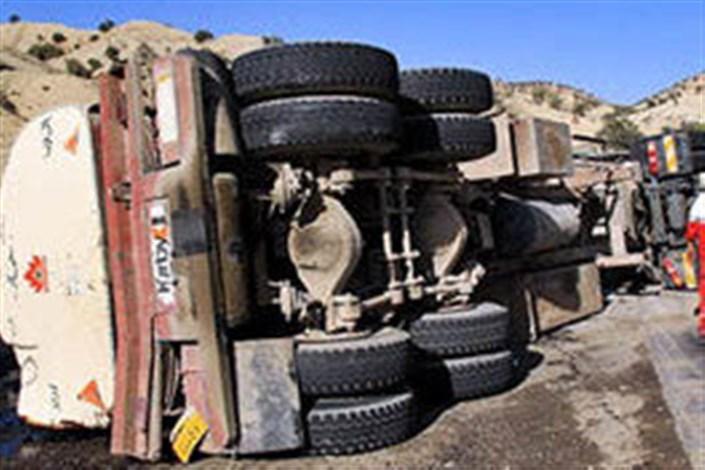 واژگونی کامیون