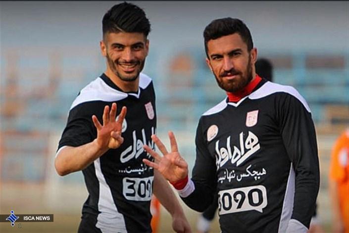 خالد شفیعی و سعید آقایی