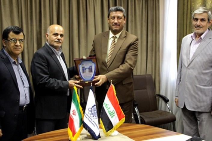 هیئت عالی رتبه دانشگاه بابل عراق در دانشگاه