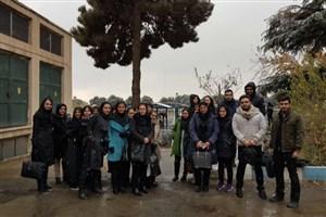 بازدید دانشجویان واحد علوم دارویی از شرکت تامین و تصفیه آب و فاضلاب تهران