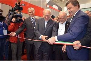 افتتاح نمایشگاه اختصاصی ایران در رم