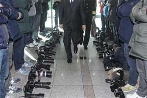 اعتراض سیاسی به سبک خبرنگاران کرهای