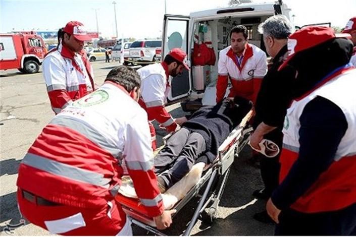 8مجروح حادثه کربلا از مرز مهران تحویل اورژانس شدند