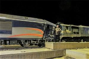 ۵ فوتی و ۱۱ مصدوم در تصادف ۲ قطار در سمنان/ انتقال مجروحان به بیمارستان ولایت دامغان