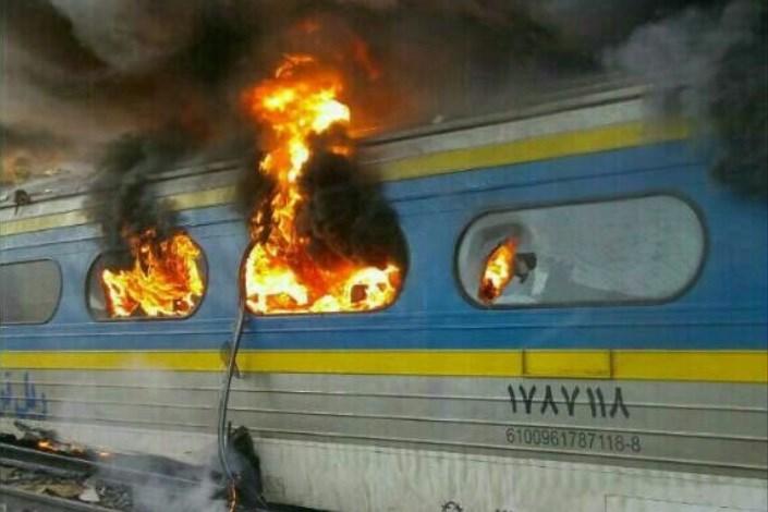 حادثه قطار در سمنان