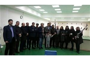 مسابقه تیراندازی در رشته تپانچه و تفنگ بادی در واحد اردبیل برگزار شد