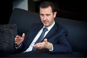بشار اسد: نسل حاضر نباید در برابر نازیهای معاصر سر خم کند