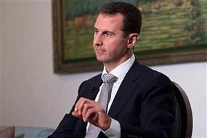 بشار اسد: هدف از مذاکرات آستانه برقراری آتشبس است