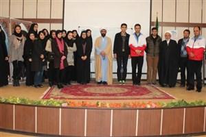 برگزاری انتخابات کانون دانشجویی هلال احمر
