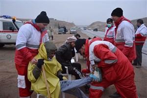 امداد رسانی به 106 نفر طی 24 ساعت گذشته