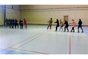 برگزاری جشنواره ورزشی دانشجویان خواهر دانشگاه آزاد اسلامی  واحد اردبیل