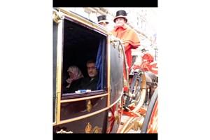 پست اینستاگرامی بعیدی نژاد درباره تقدیم استوارنامه اش به ملکه انگلیس