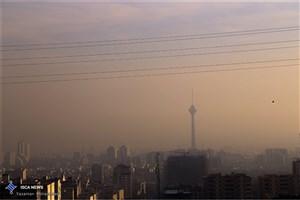 کیفیت هوای تهران در شهر تهران ناسالم است