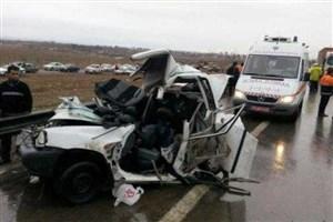 جزئیات تصادف زنجیرهای آزادراه کرج/یک مرد، یک زن و دو کودک جان باختند