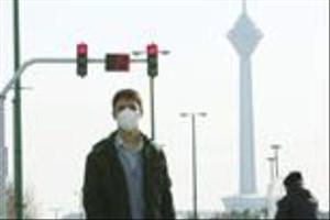 وضعیت قرمز هوا در ۷ منطقه تهران؛ ساعت ۷ صبح ۱۲ دی ۹۵/ این نقشه را ببینید و از خانه خارج نشوید