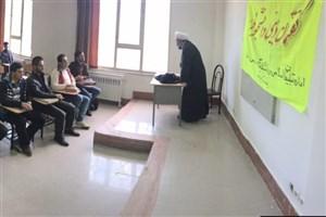 برگزاری نشست گفتمان دینی و دانشجویی در دانشگاه آزاد واحد بستان آباد