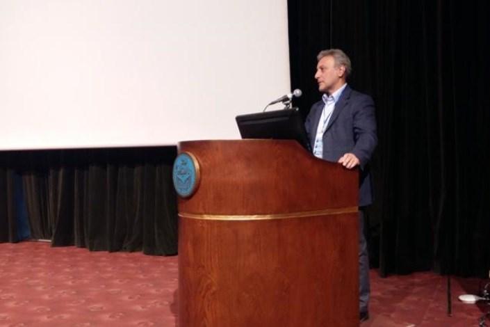 دکتر نیلی رییس دانشگاه تهران