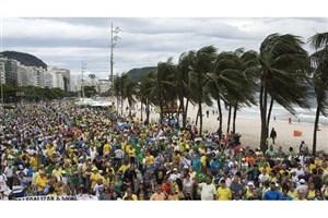 هزاران برزیلی در اعتراض به فساد به خیابانها آمدند