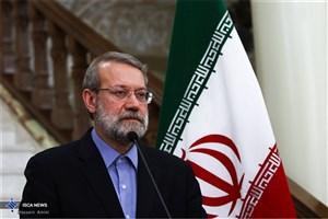 لاریجانی: جریان های تروریستی به علت اهمیت و جایگاه عراق ایجاد شده اند