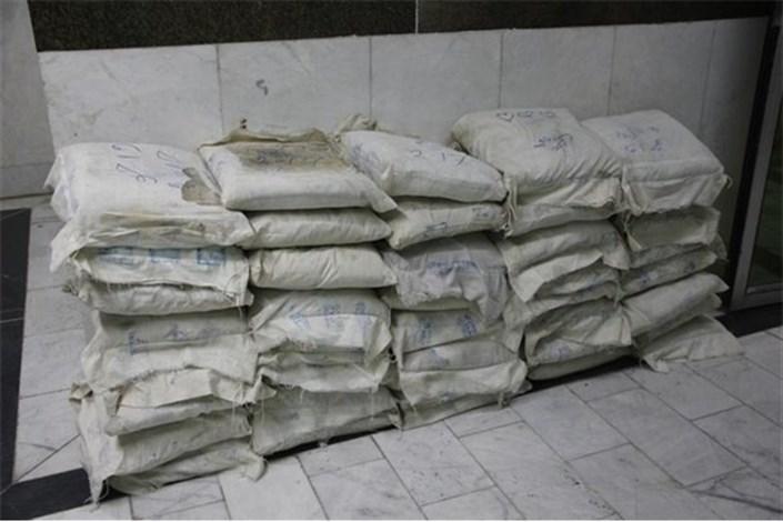 دستگیری توزیع کننده مواد مخدر با بیش از 116 کیلوگرم تریاک