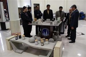 بازدید نمایندگان دبیرخانه هیات موسس دانشگاه آزاد اسلامی از واحد قزوین