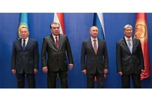پیام تبریک رؤسای جمهور روسیه و آسیای مرکزی به «میرضیایف»