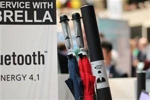 چتر هوشمند با قابلیت اعلام آب و هوا